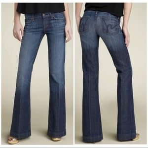Citizens of Humanity Faye 003 stretch wide jeans